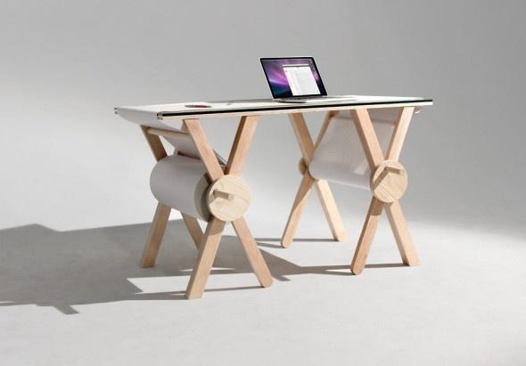 Analog Memory Desk in defringe.com #memory #analog #design #defringe #product #desk #defringecom