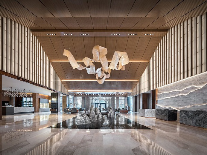 lobby / CL3 Architects Limited