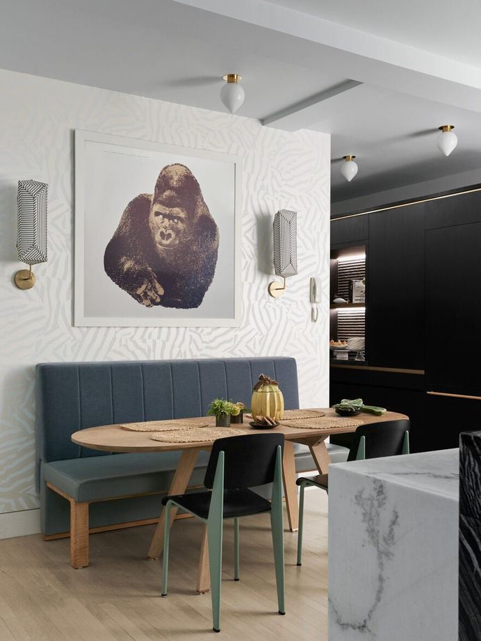 dining room, Michael K Chen Architecture
