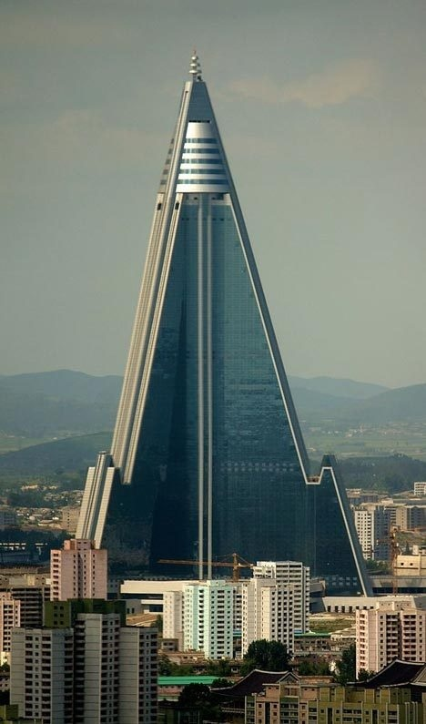 Ryugyong Hotel #architecture