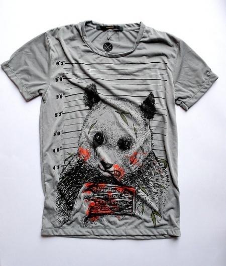 Panda Killer Tshirts Available in S M L by huebucket on Etsy #panda #killer #tshirt