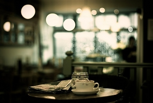 La Fourchette (encore..) | Flickr - Photo Sharing! #cafe #photography #bokeh