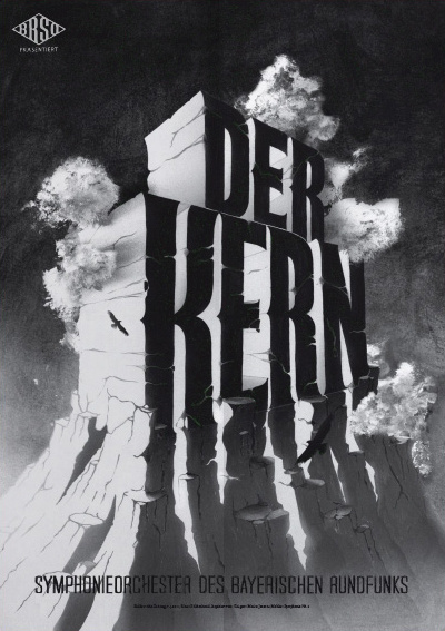 Typeverything.com Poster (8 of 13) from a campaign for the Bavarian Radio Symphony Orchestra by Mirko Borsche. #typography