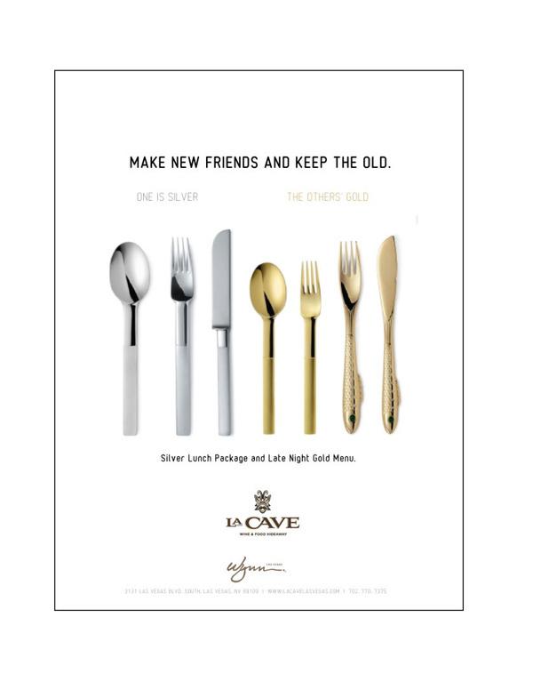 LA CAVE Ads #branding #silver #design #clean #advertising #lasvegas #gold #whyworkshop