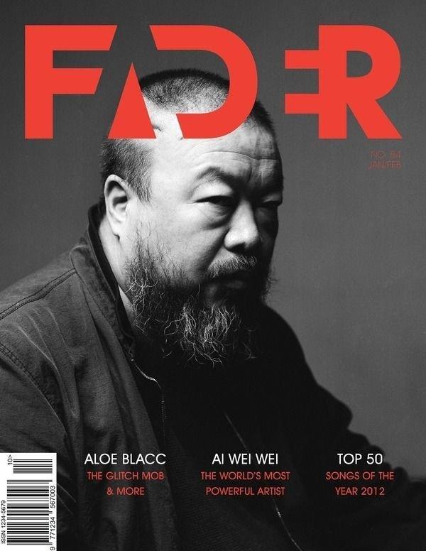 Fader Magazine by Sam Reed #type #typography