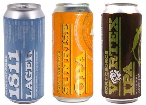 Fort George Brewery #packaging #beer
