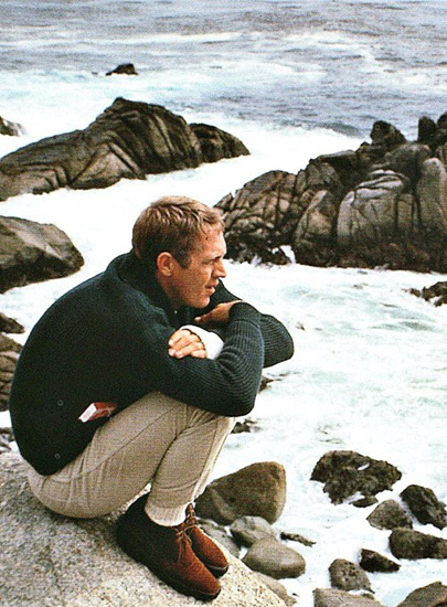 Steve McQueen #fashion #mens #style #icon