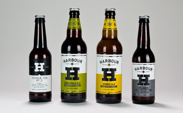 Harbour Brewing Co on Behance #packaging