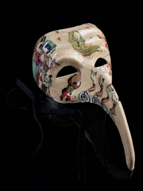 HOBBY / Venetian masks on the Behance Network #costume #circus #venice #mask #venetian