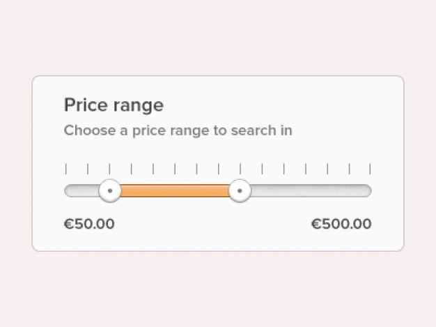 Circular price slider with strip box Free Psd. See more inspiration related to Box, Price, Psd, Material, Slider, Interface, Strip, Circular, Horizontal, Sliders, Range and Psd material on Freepik.