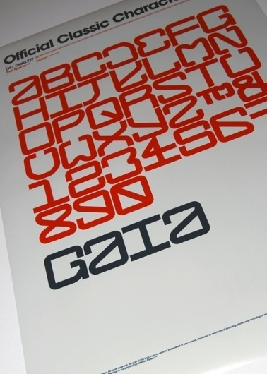 Typo posters, 2009. on the Behance Network #official #classic #design #graphic #typeface #typography