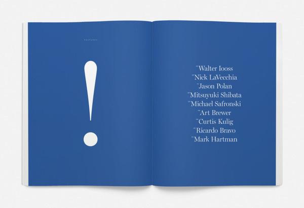 Magazine Issue # 001 Summer 2012 | Saturdays #saturdays #typography