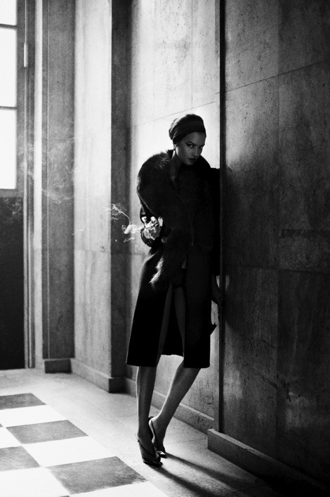 Mikael Jansson for Interview Magazine #model #girl #photography #fashion #winter