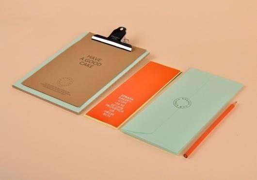 P.A.R #branding #print #food #simple #identity