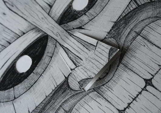 Messer Chups on the Behance Network #flyers #illustration #elantidoto #mask