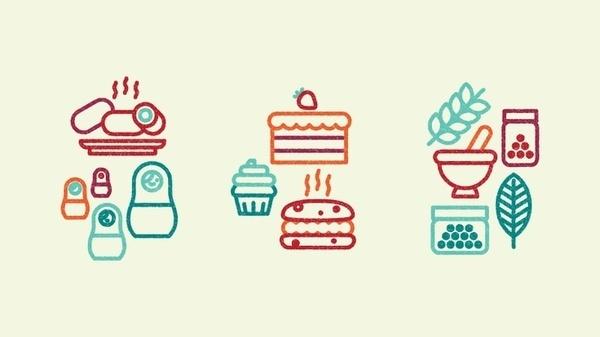 Skinny Ships – Ne... Bloglovin | Icon Design #stamp #icons #food
