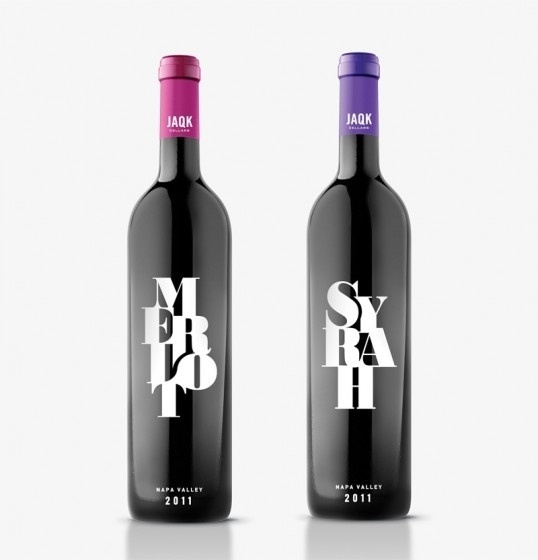Lovely Package | Curating the very best packaging design | Page 4 #cellars #packaging #merlot #wine #syrah #jaqk
