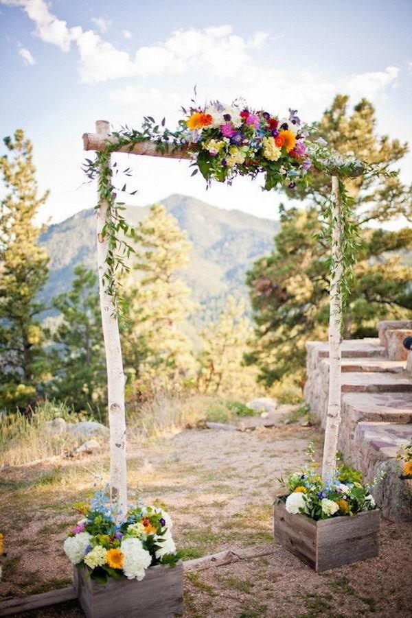 20 Cool Wedding Arch Ideas #ideas #arch #wedding