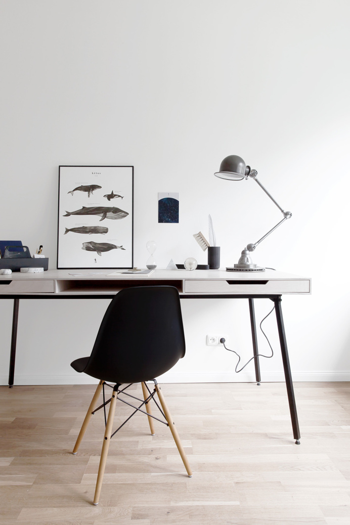 Workspace. Styled by Coco Lapine Design. #workspace #minimal #cocolapinedesign