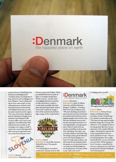 Denmark : Paul Schlacter #logo #brand #denmark