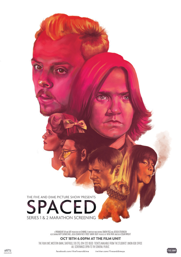 Spaced.jpg #mute #illustration #poster #spaced #muteart