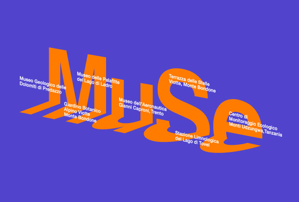 MUSE logotype designed by Harry Pearce #type #muse #pentagram #typography