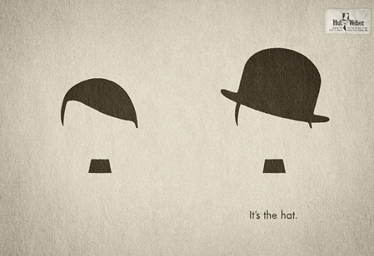 26 Brilliant Minimalist Print Ads | Bored Panda #graphic design #design #advertising #magazine #germany #advertisement #hitler #chapman