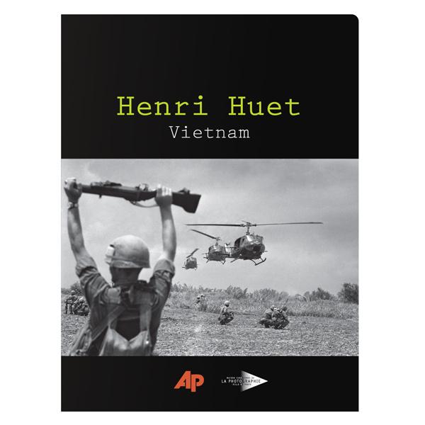 Associated Press Vintage Presentation Folder (Front View) #vietnam #white #war #design #soldier #black #and #folder