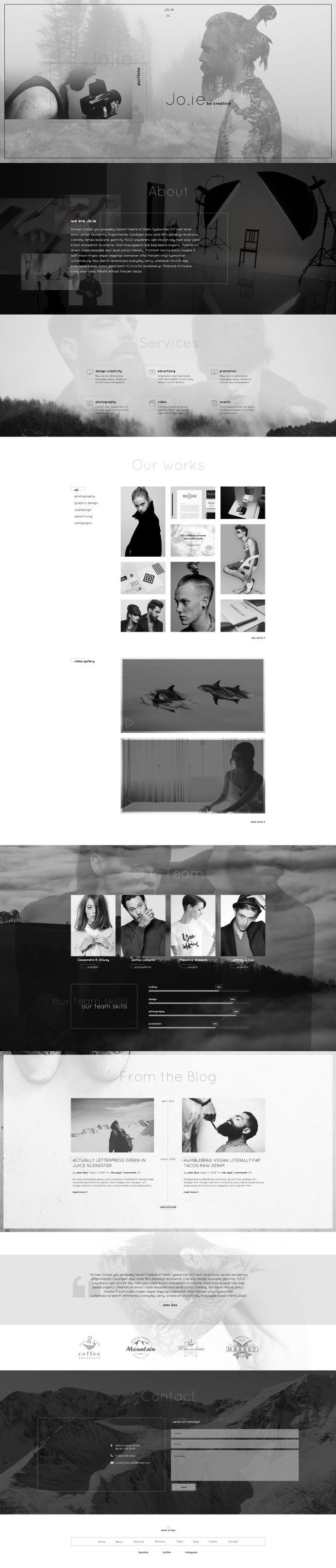 Jo.ie — Personal/Studio
