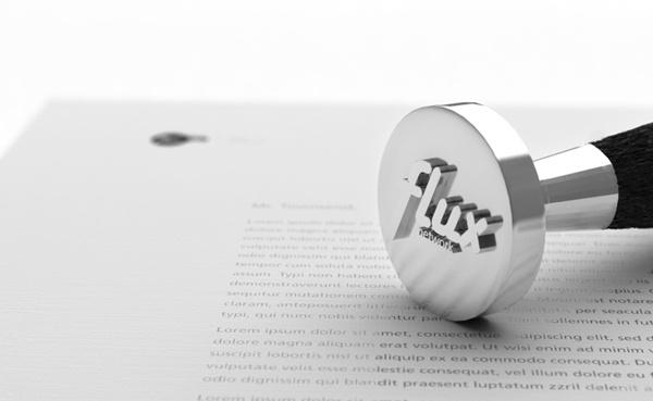 Flux (TV Network Identity Design) on the Behance Network #logo #brand #identigty #stamp
