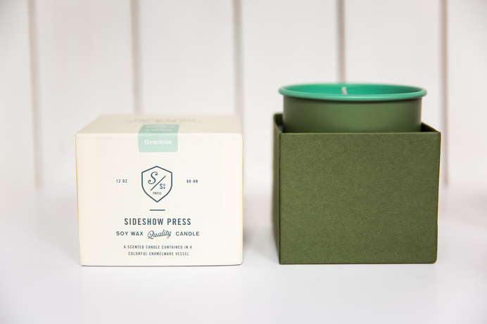 #packaging #candle #typography