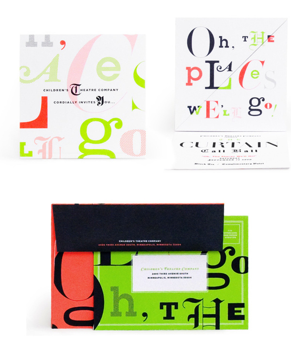 Children's Theatre 2010 : Nathan Hinz #packaging #mailer #stationary #typography