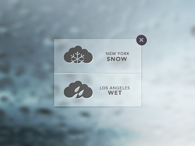 Dribbble - Weather by Joss Dindo Peralta #icon #app #weather