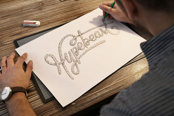 HYPEBEAST PEN #hand #drawn #type #hypebeast #pencil