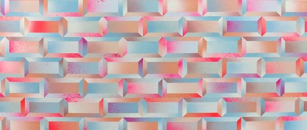 Morgan Blair #pattern #wall #airbrush #tiles #morgan blair