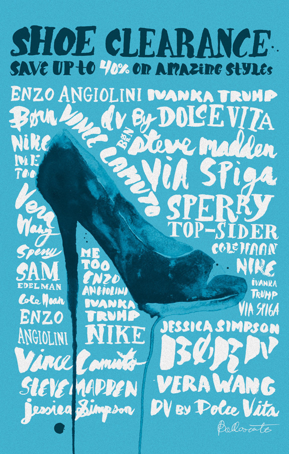 Nordstrom Shoe Campaign #shoe #nordstrom #fashion #ballasiotes #editorial