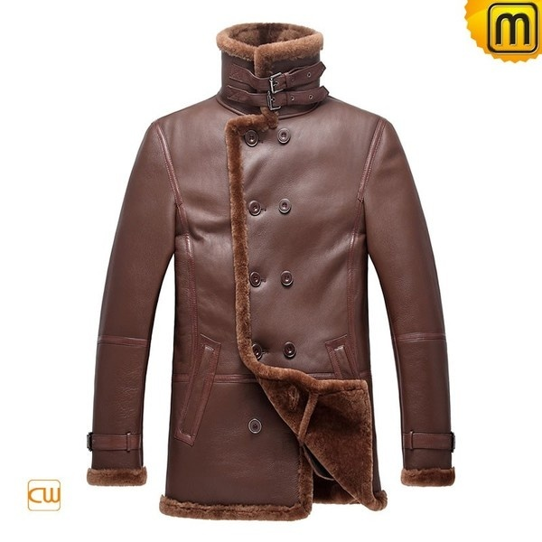 Russian Style Sheepskin Coat for Men CW878236 #sheepskin #coat