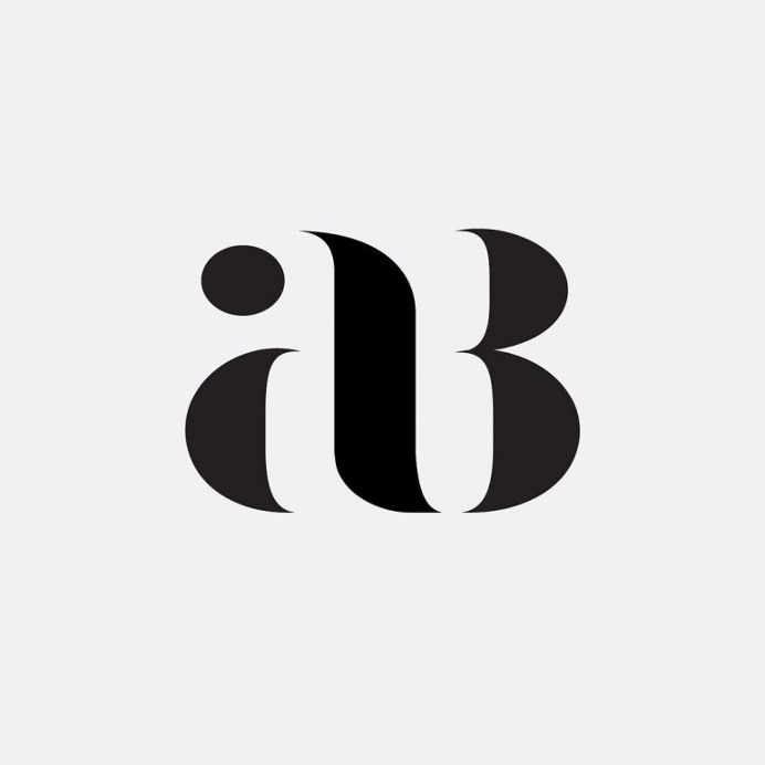 """""""AB"""" Monogram Project by Hope Meng"""