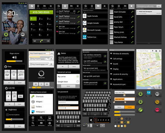 10 Free Useful Android PSD UI Kits #psd #ui #android