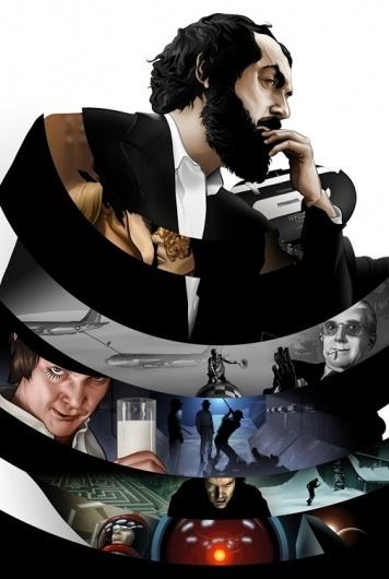 Taming Light: Stanley Kubrick : Martin Ansin, Illustrator | Illustration Portfolio #illustration #design