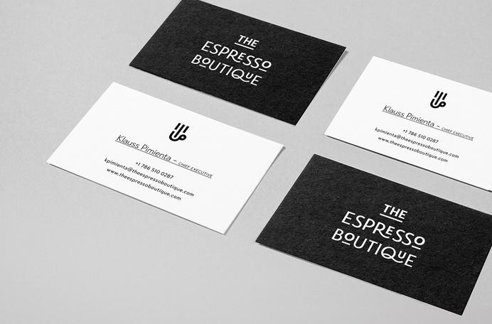 The Espresso Boutique branding #visual #branding #design #graphic #identity #stationery