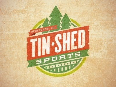 Dribbble - Tin Shed (B) by Monte Mitchell #logo
