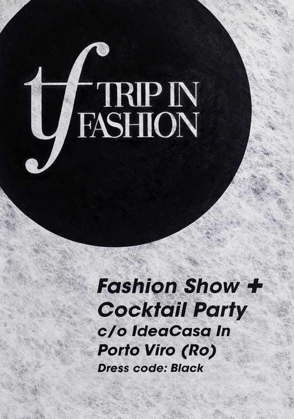 Handmade Typographic Poster For Trip In Fashion