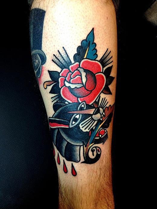 Tattoos by Mark Cross