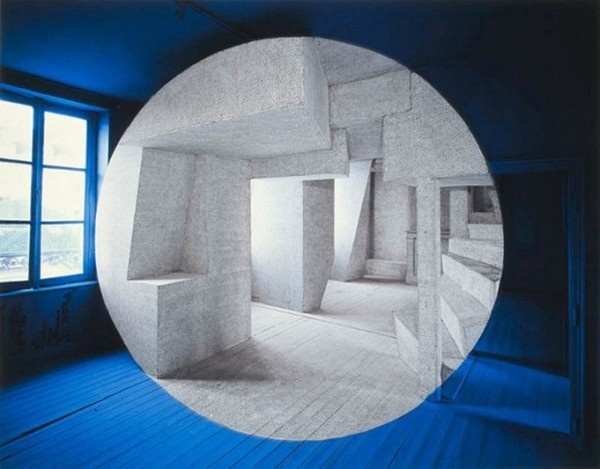 New Anamorphoses by Georges Rousse1 #architecture #art