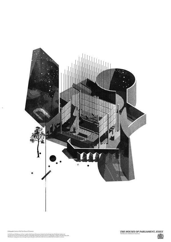 kieran wardle 00 #rendering #architecture #drawing