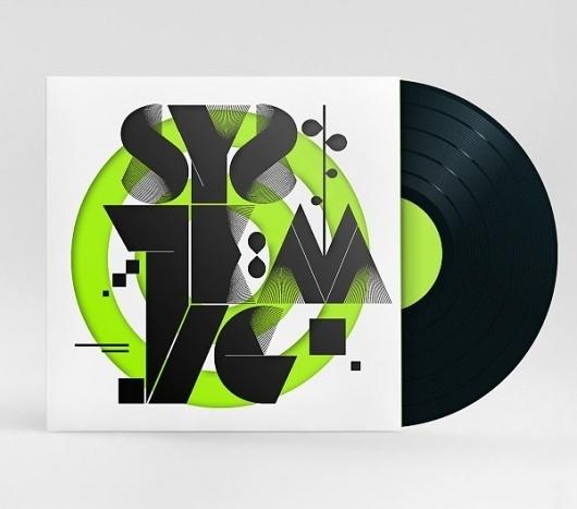 DJ Jay Kay - Album Art on the Behance Network #vinyl #album #typography