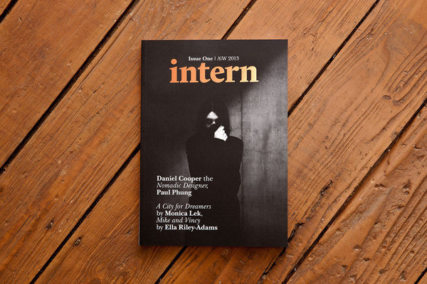 Intern Magazine Issue One Designed by She Was Only #intern #print #editorial #magazine