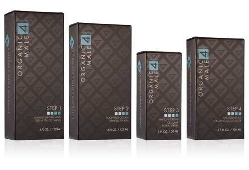 Organic Male OM4 Bridges Green and Prestige in Packaging Design - Chatterbox | spotlight - packagedesign.com - Packaging News, Packaging Resources Di #packaging