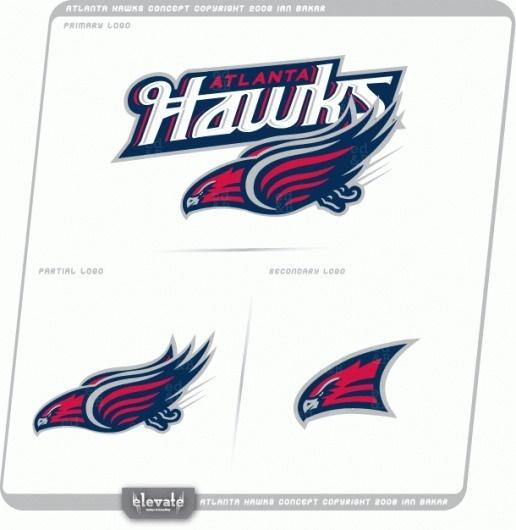 Atlanta+Hawks+Concept+V2.gif (image) #logo #hawks #atlanta